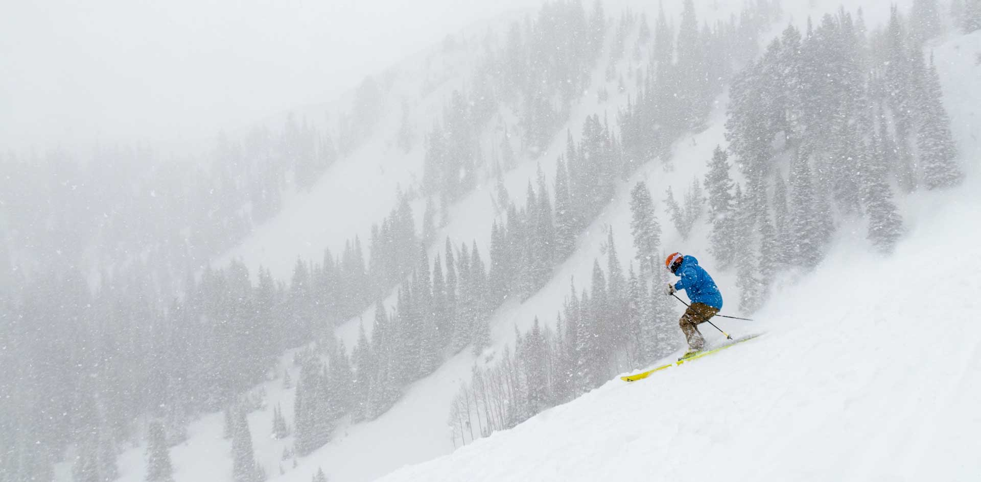 Andy Buckley Skiing in Deer Valley, UT