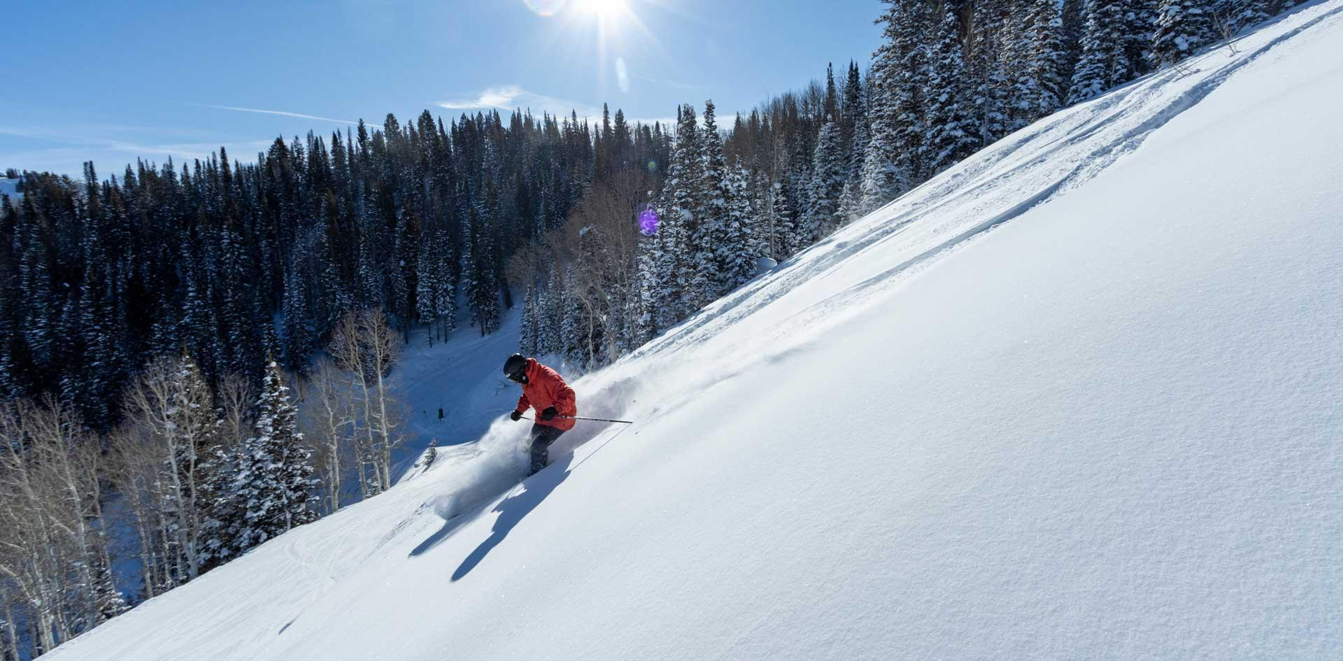 Jeff Walker Skiing in Deer Valley, UT