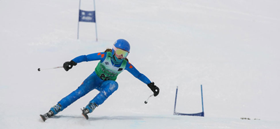 Junior ski racing in Park City, UT