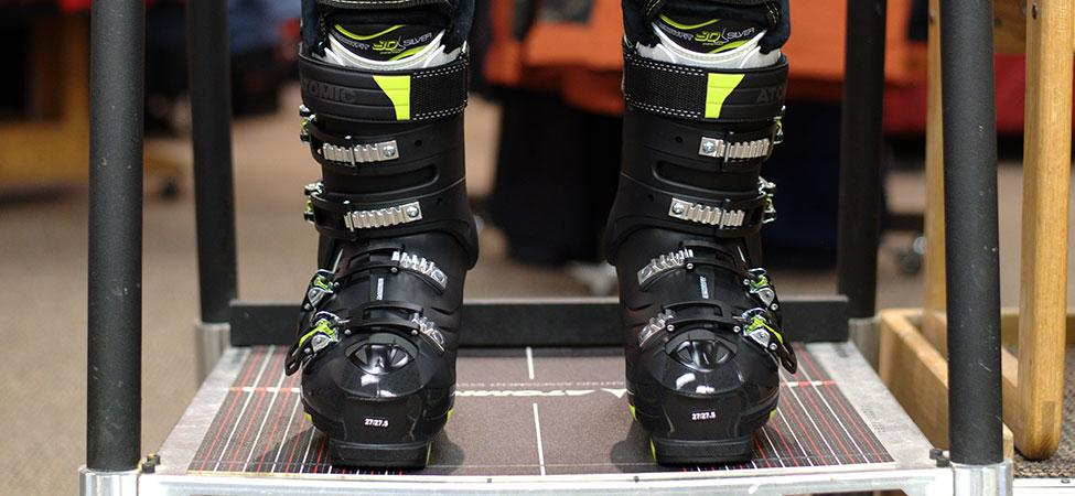 custom ski boot fitting process