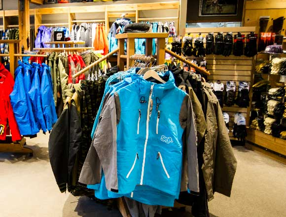 Ski Jackets at Jans in Park City, UT
