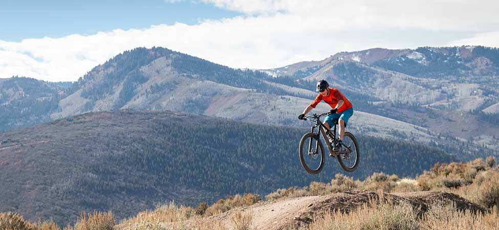 Hank Keil Mountain Biking in Park City, UT