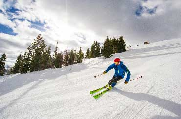 Jans Expert Karl 'Jake' Jacobson Skiing in Park City, UT