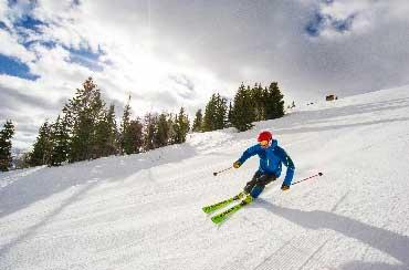 Karl 'Jake' Jacobson Skiing in Park City, Utah