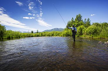 Travis Vernon Fly-Fishing in Park City, Utah