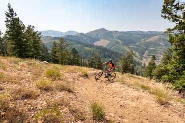 Brent Mcelhaney Mountain Biking in Park City, Utah