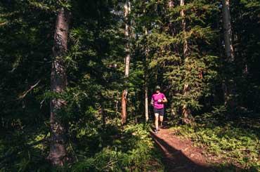 Carolyn Holliday Trail Running in Park City, Utah