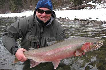 Jack Walzer Winter Fly Fishing with Jans