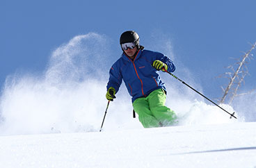 Jack Walzer Alpine Skiing with Jans