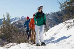 Guided Local Snowshoe Tour
