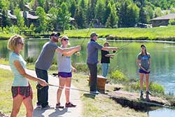 Free Fly Fishing Casting Lessons