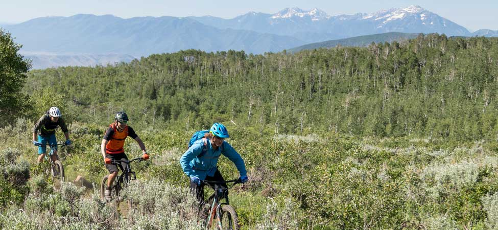 Guided Mountain Bike Tours from jans.com in Park City, UT