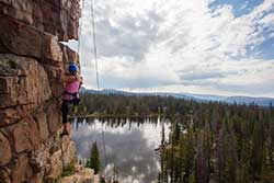 Wilderness Rock Climbing Tour