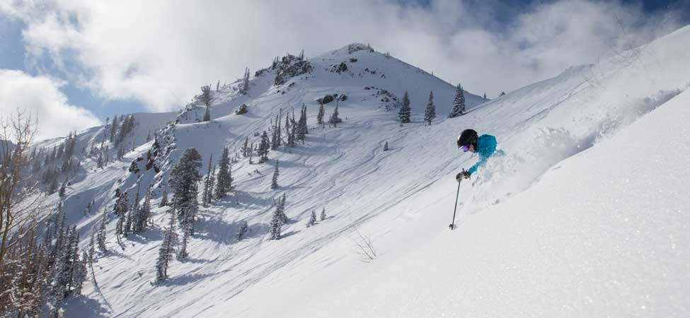 Jans Expert Kendall Fischer Skiing at Deer Valley Resort