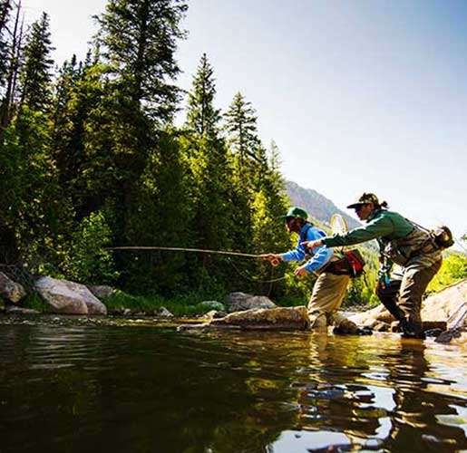 Fly Fishing Lessons with jans.com in Park City, UT