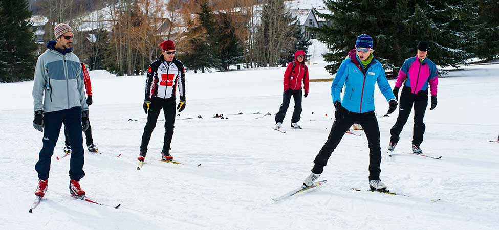 Cross-Country Skate Ski Lessons