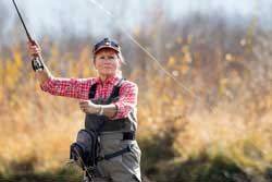 Women's Intro to Fly Fishing Lesson