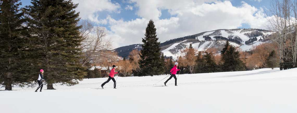 Guided Cross Country Ski Tours from jans.com in park city, utah