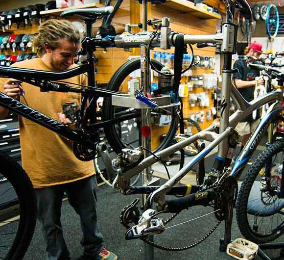 Bike tuning with jans.com in Park City, UT
