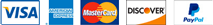jans.com accepts Discover Card, Master Card, American Express, Visa and PayPal