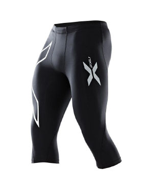 44c0b37570537 2XU Hyoptik Thermal Compression 3/4 Tights - Men's. Pinit