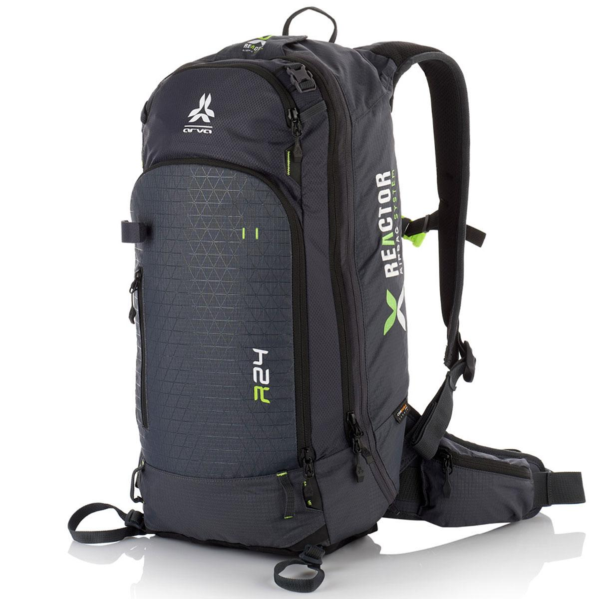 Arva Reactor 24 Airbag Backpack in Grey and Blue