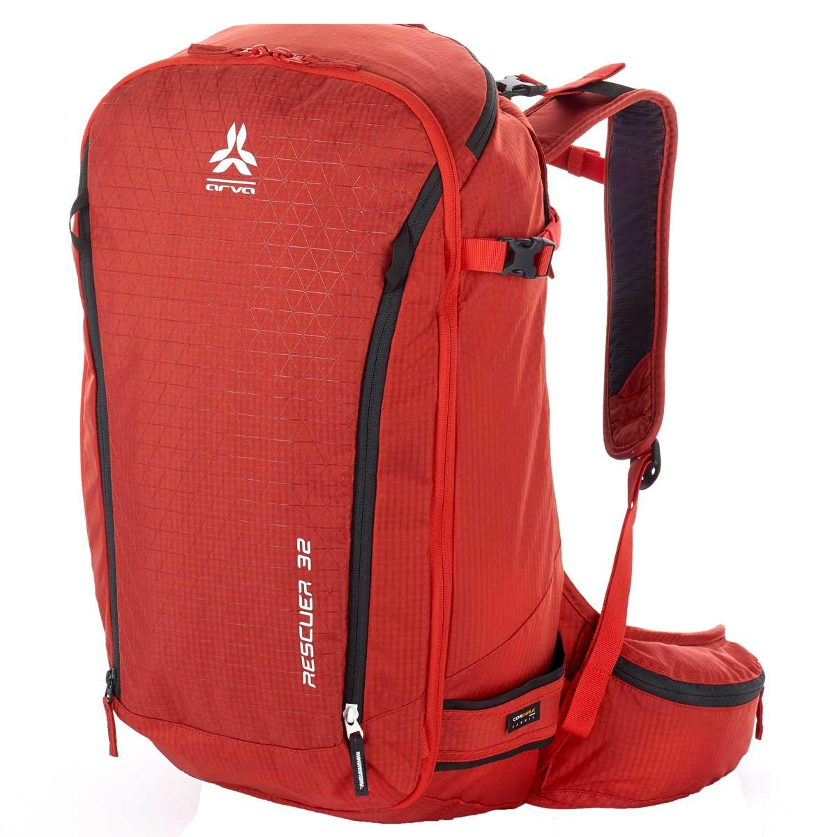 Arva Rescuer 32L Backpack in Red Clay