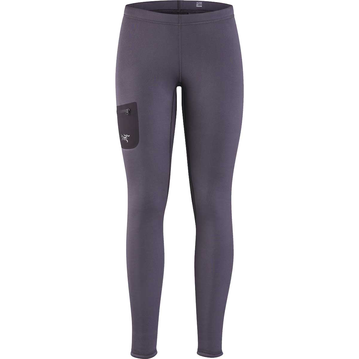 Arcteryx women's Rho AR Bottom in Whiskey Jack front view