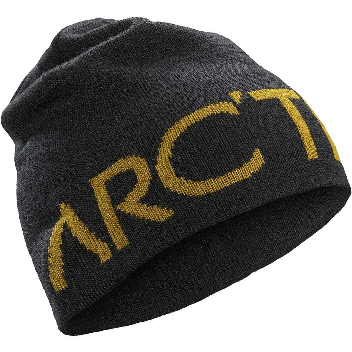 Arcteryx Word Head Toque in 24K Black main view