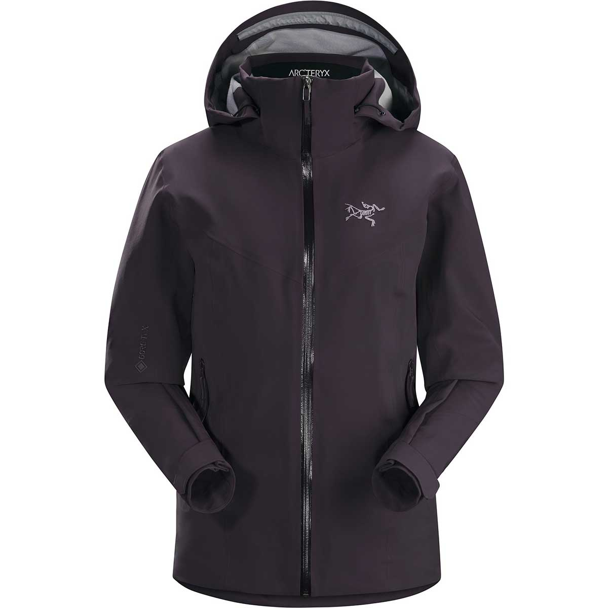 Arcteryx women's Ravenna Jacket in Dimma front view