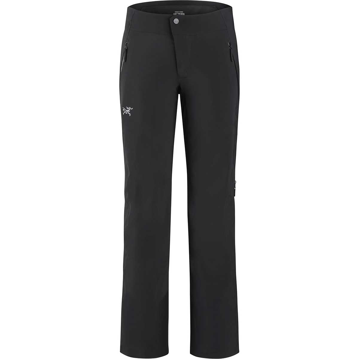 Arcteryx women's Ravenna Pant in Black front view