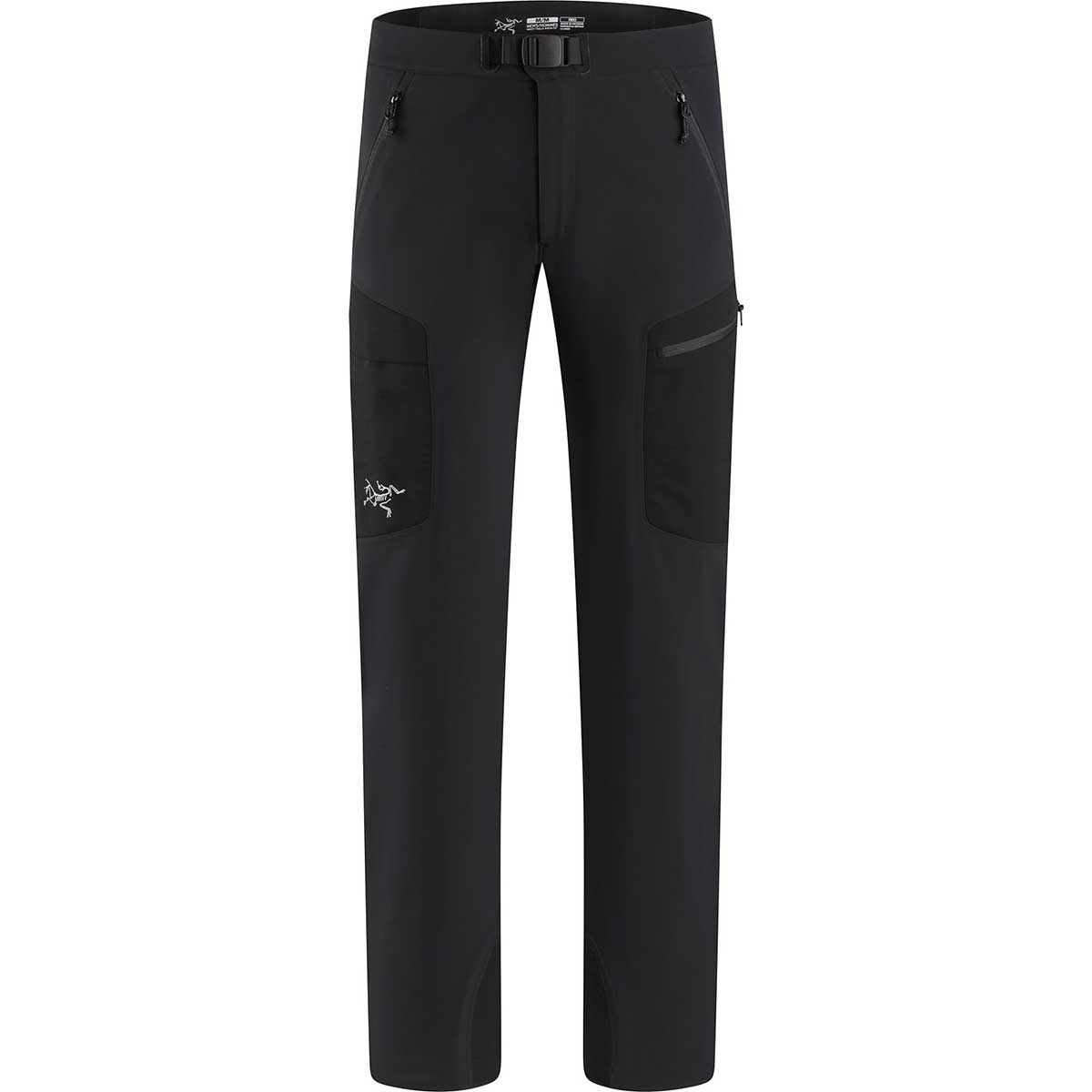 Arcteryx men's Gamma MX Pant in Black front view