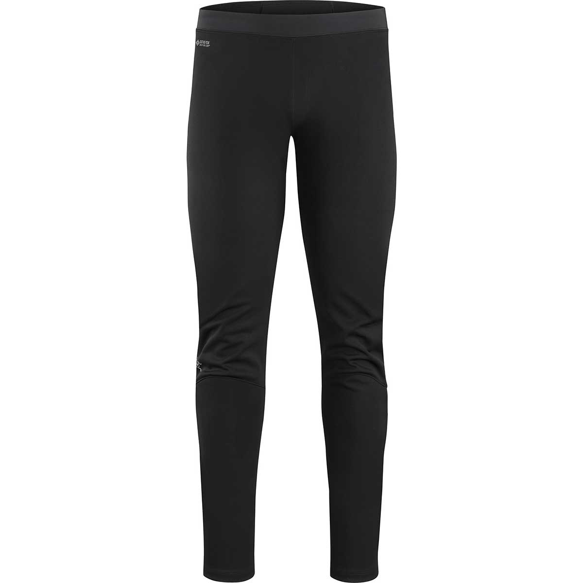 Arcteryx men's Trino Tight in Black and Black front view