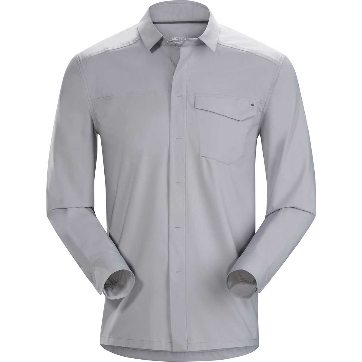 Arcteryx men's Skyline Long Sleeve Shirt in Pegasus front view