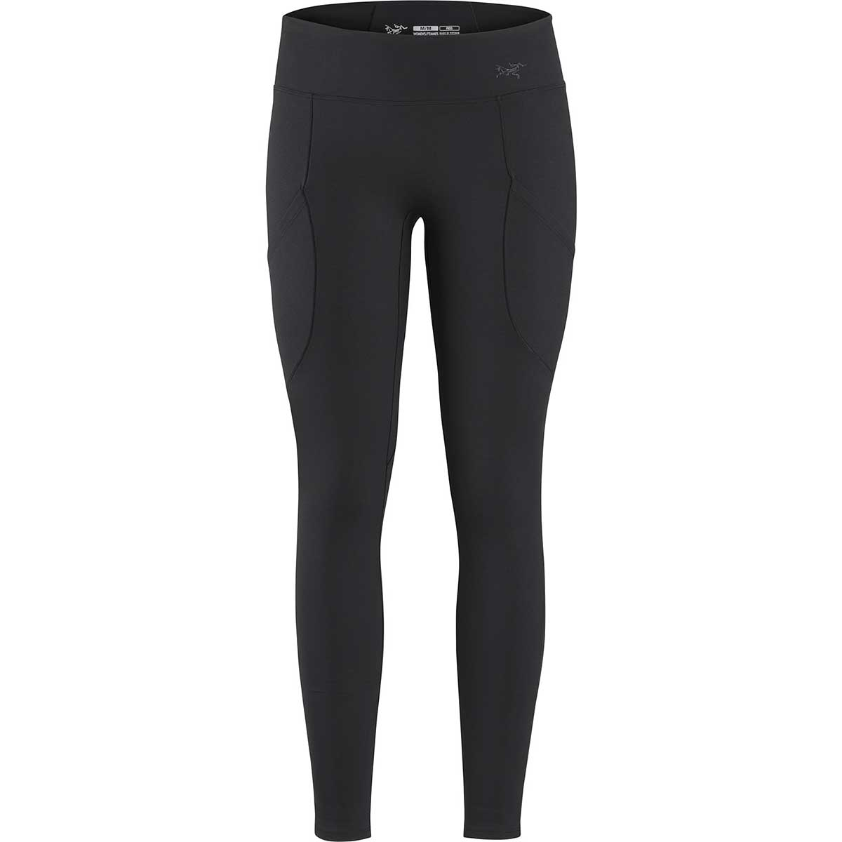 Arcteryx women's Delaney Legging in Black front view