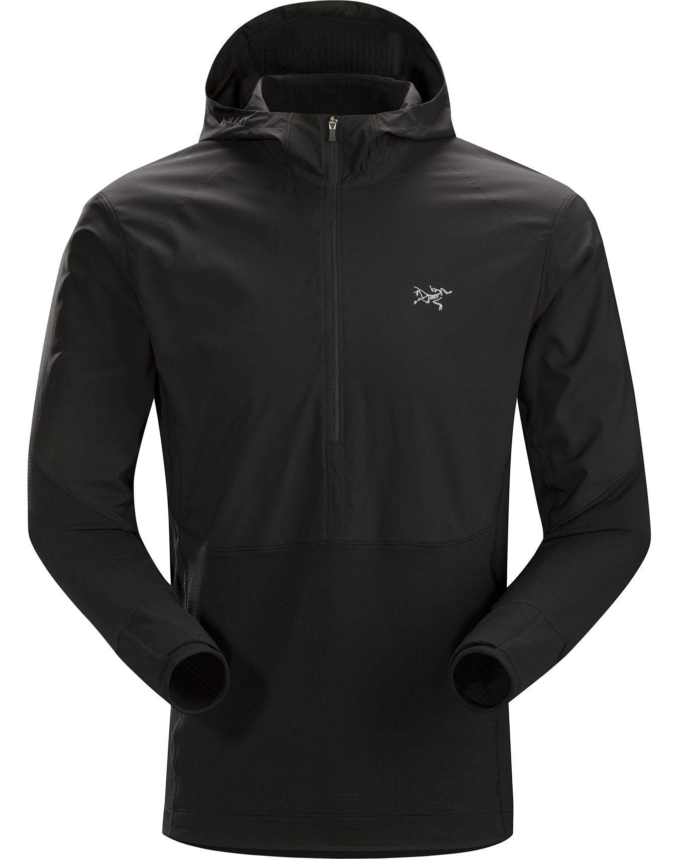 Arc'teryx Men's Aptin Zip Hoody in Black