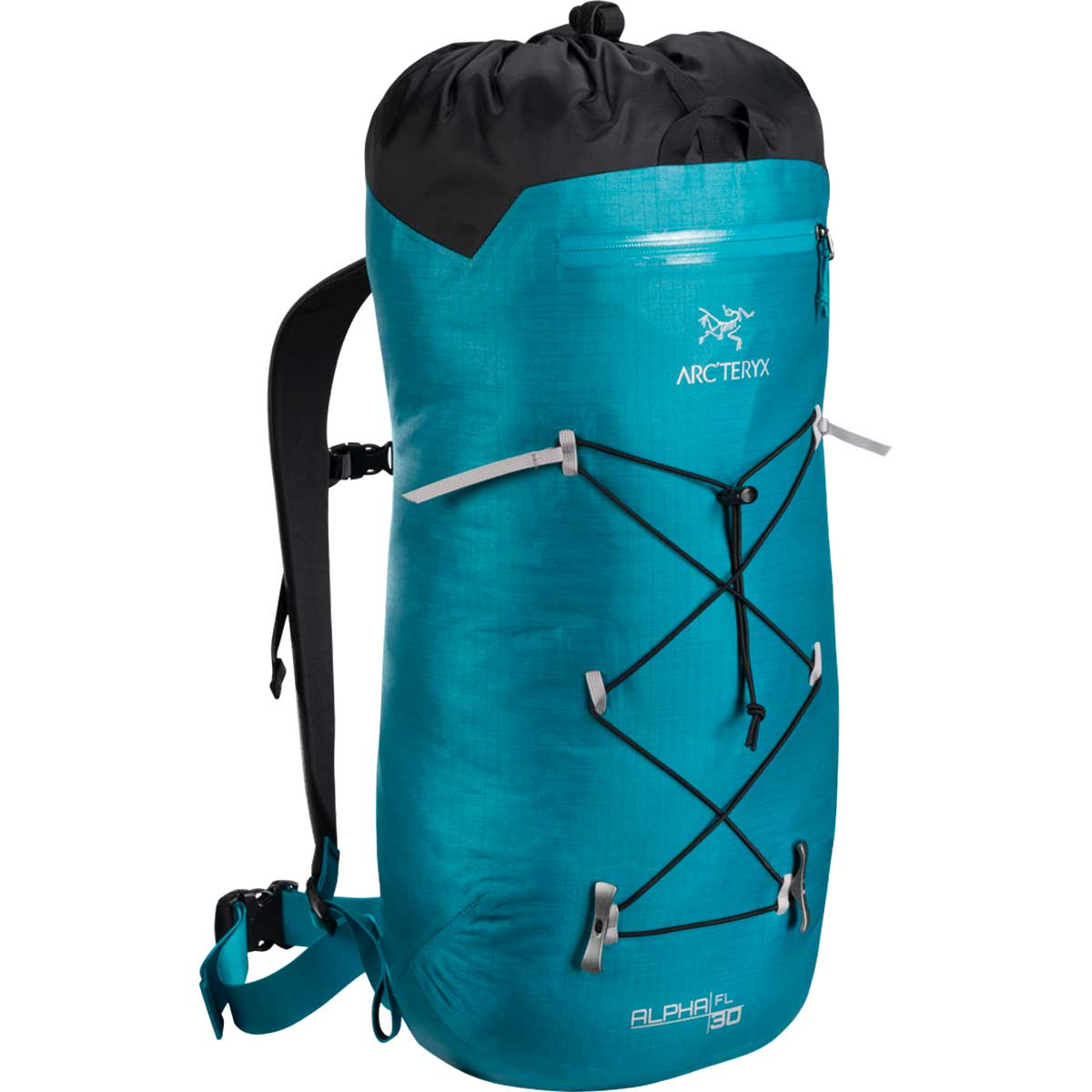 Arcteryx Alpha FL 30 backpack in Dark Firoza, or teal