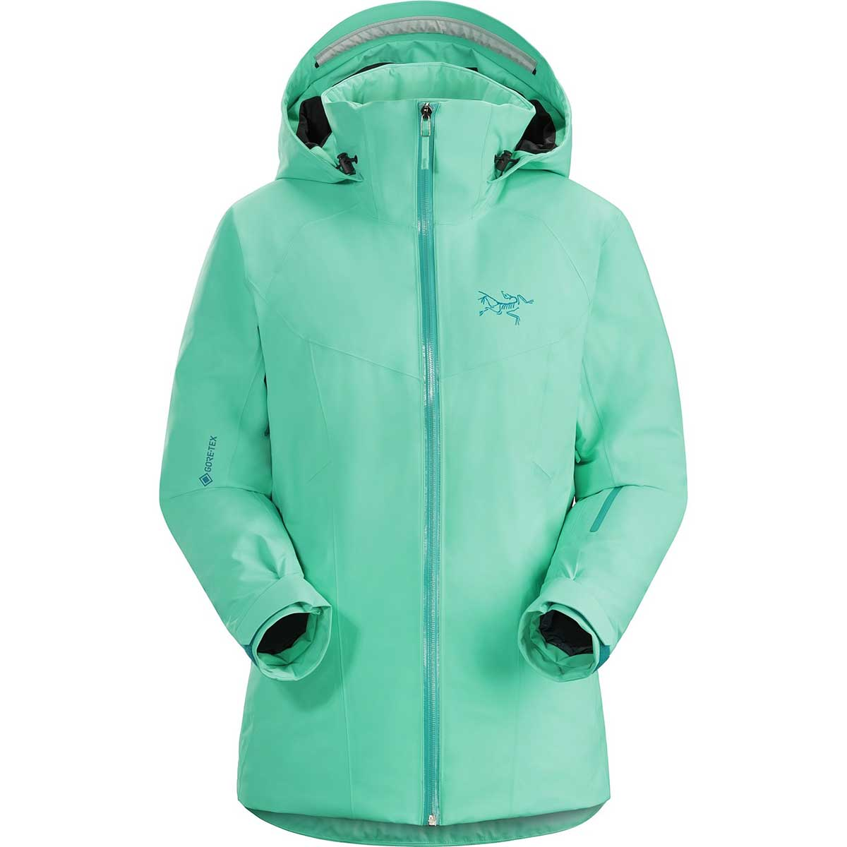 Arcteryx women's Tiya Jacket in Dark Illucinate front view