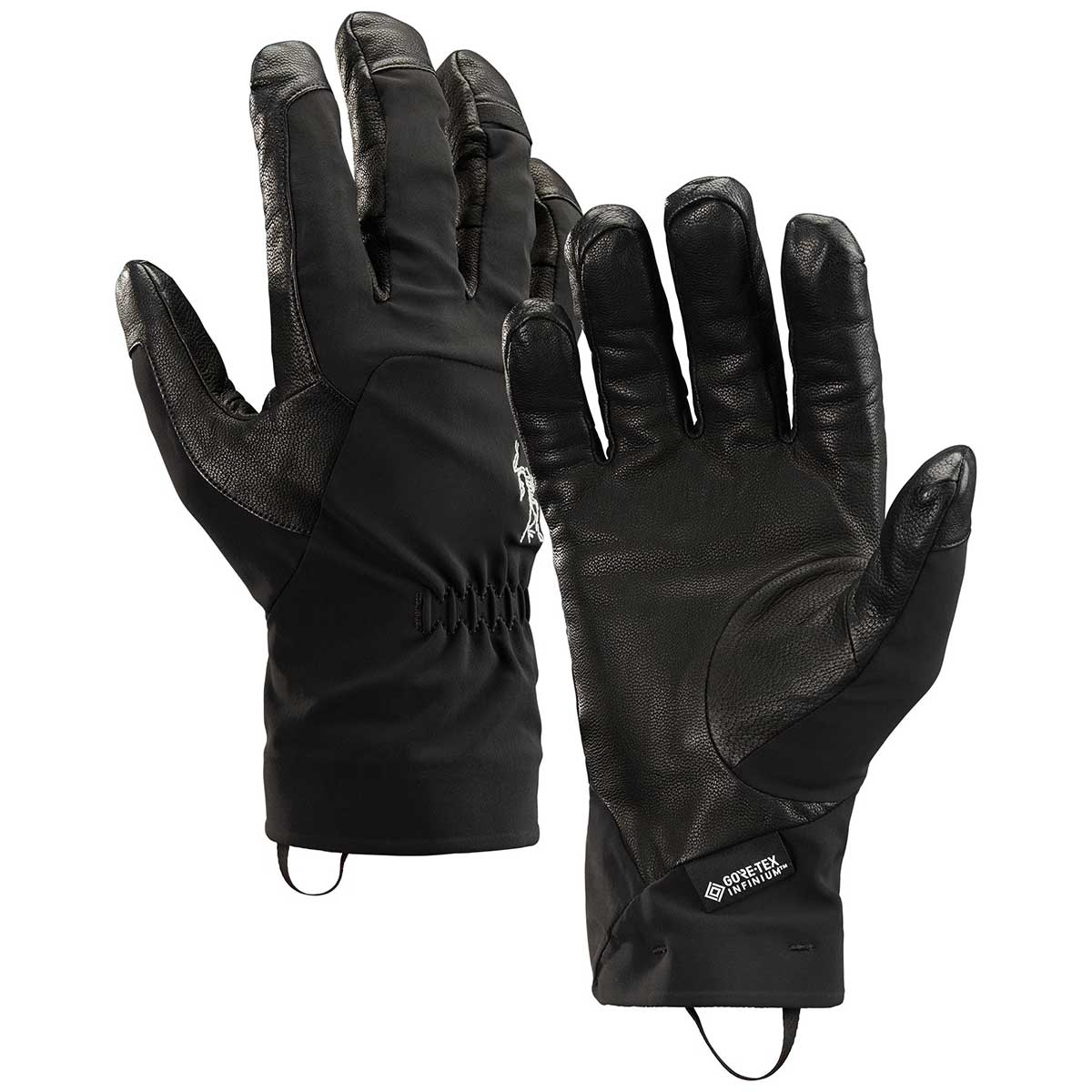 Arcteryx Ventra AR Glove in Black front view