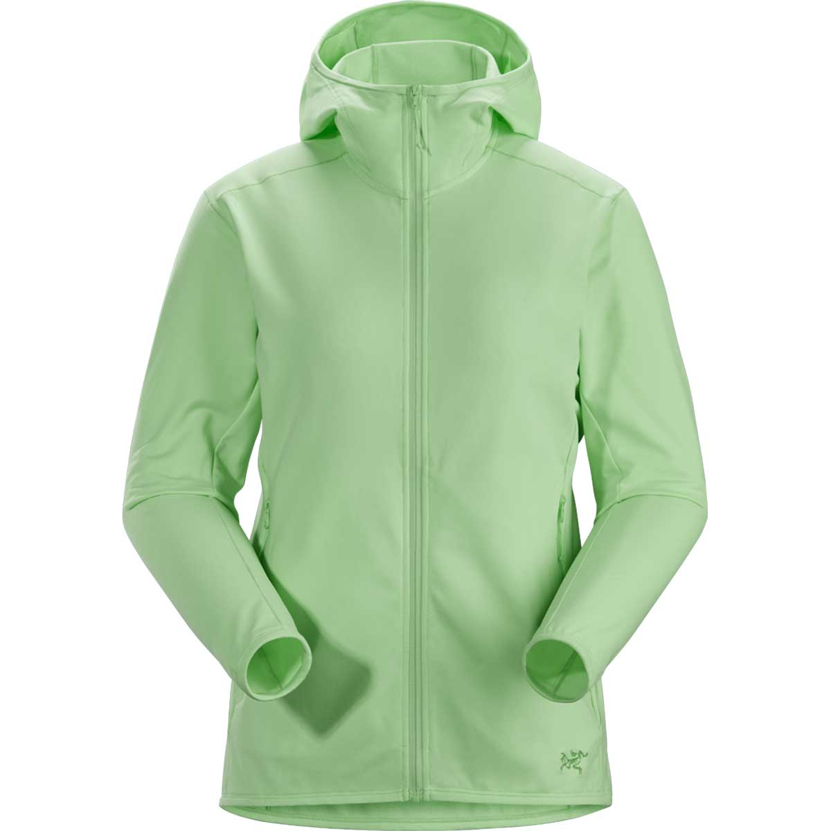 Arcteryx women's Kyanite LT Hoody in Bioprism front view