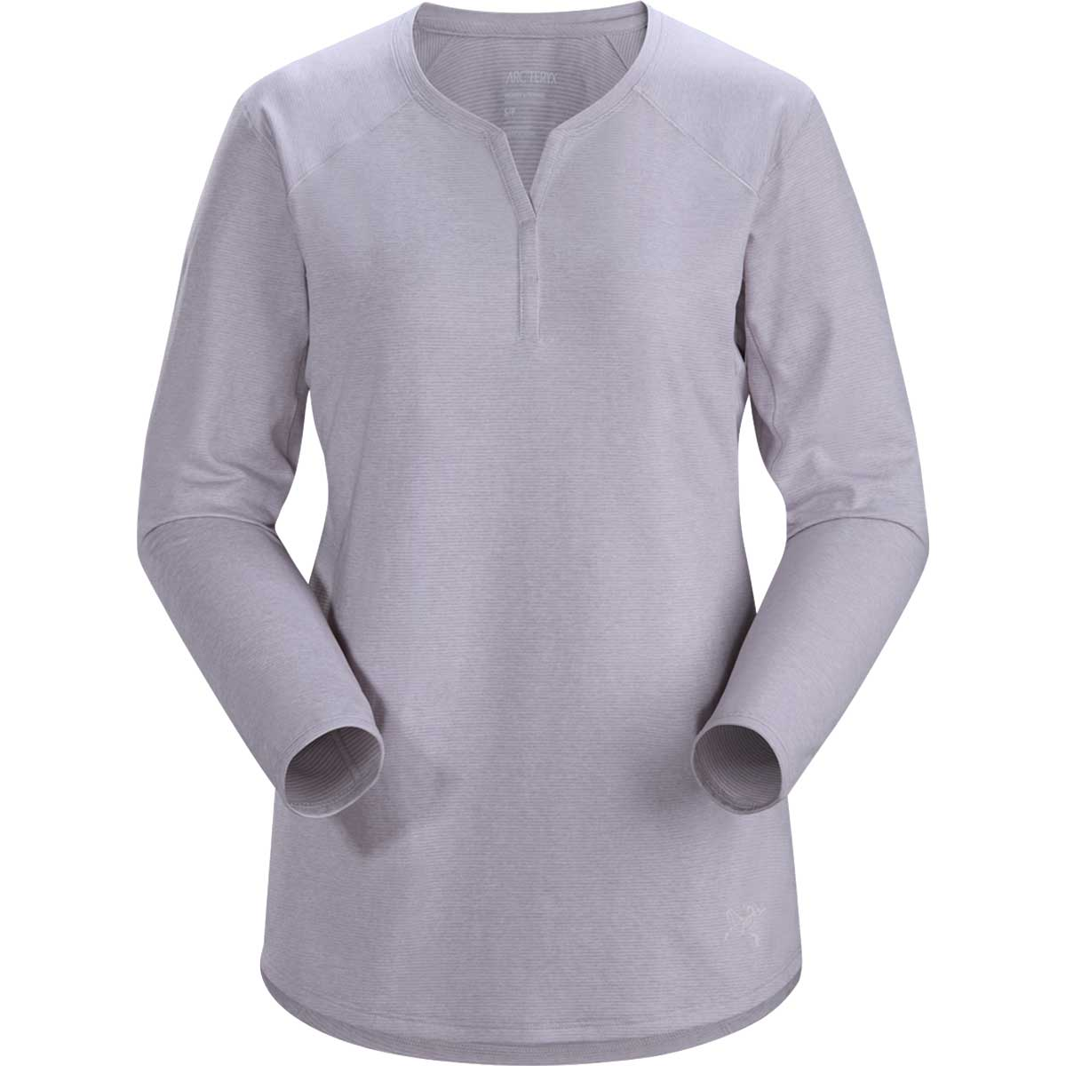 Arcteryx women's Kadem Long-Sleeve Top in Synapse front view