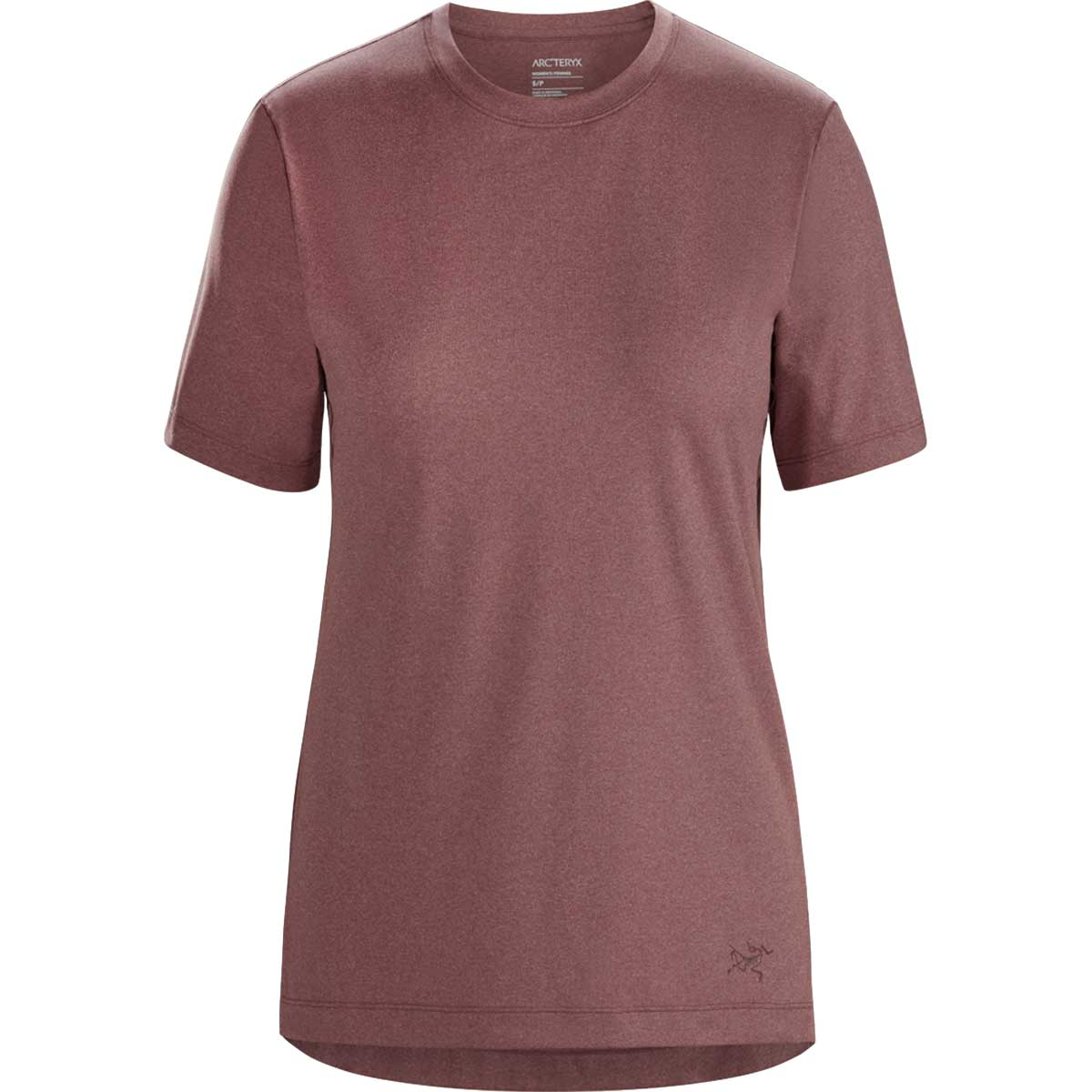 Arcteryx women's Remige Short Sleeve Top in Inertia front view