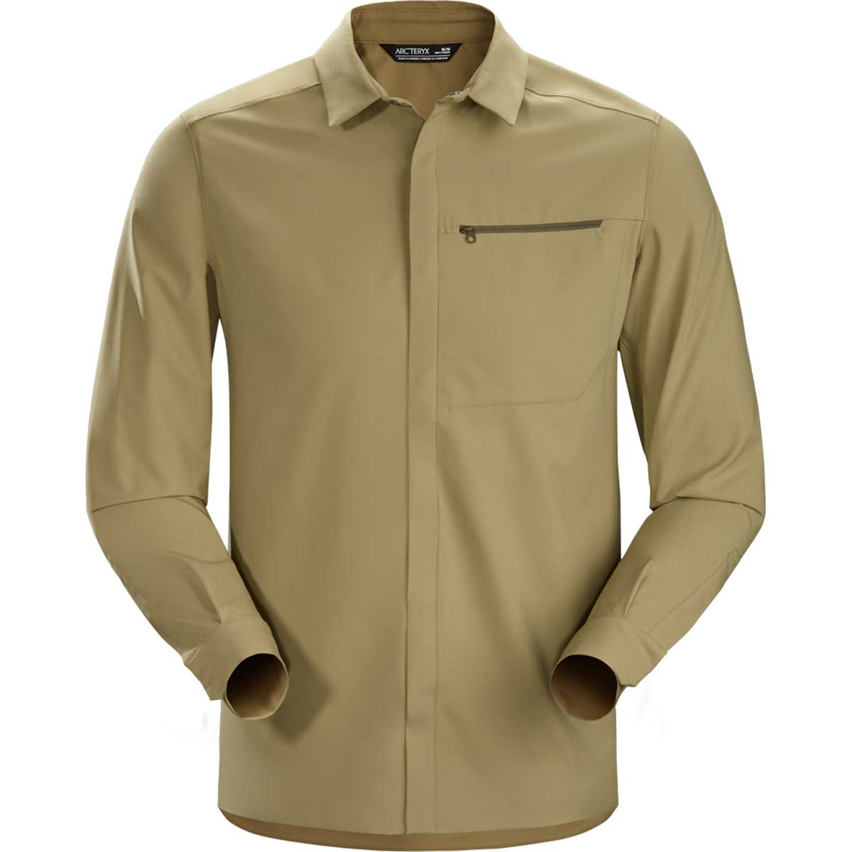 Arcteryx men's Skyline Long Sleeve Shirt in Taxus front view