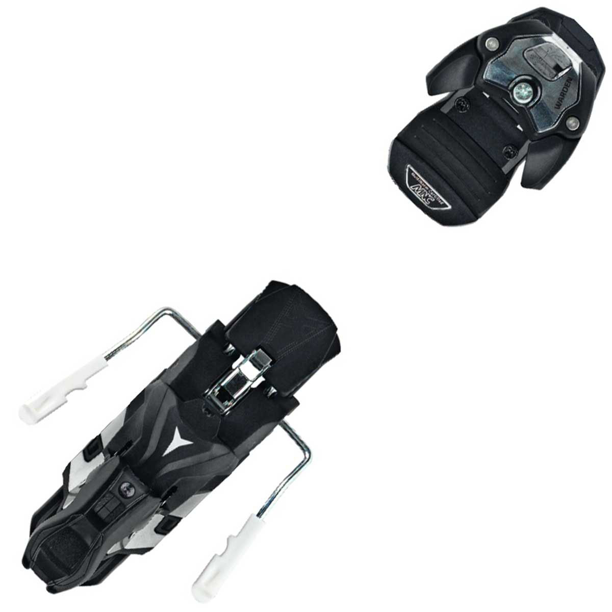 Atomic Warden MNC 13 ski binding with brake in black