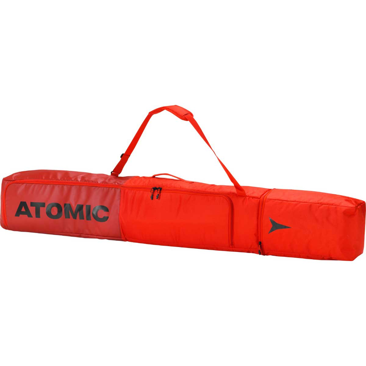 Atomic Double Ski Bag in red and bright red