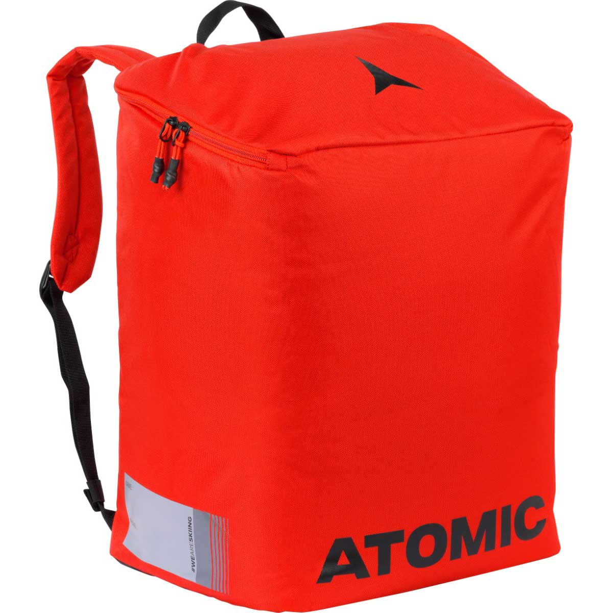 Atomic Boot and Helmet Pack in bright red and black