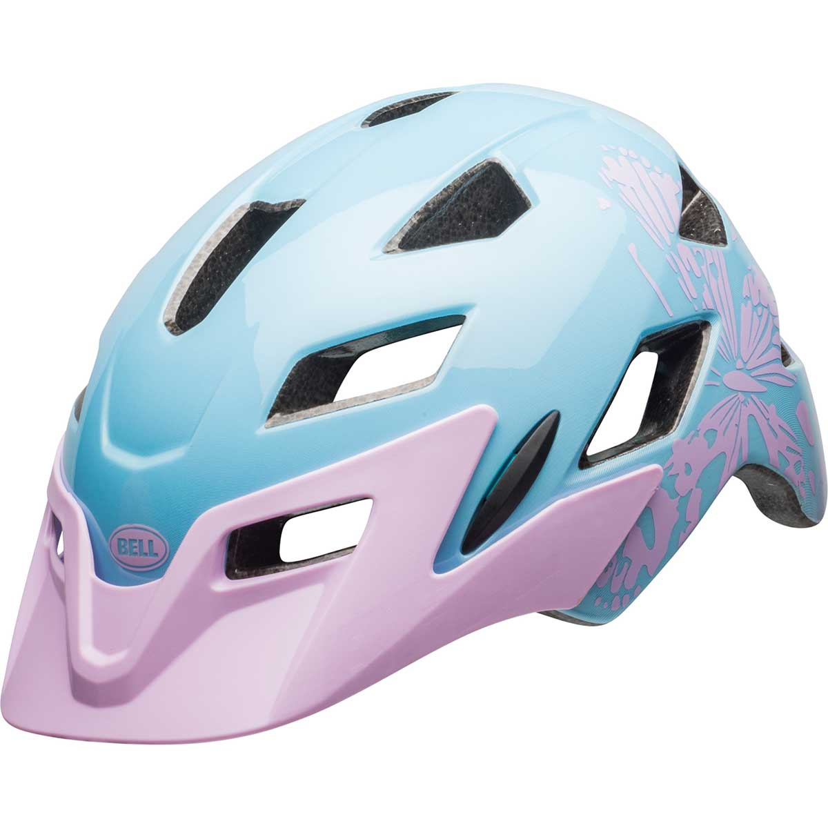 Bell kids' Sidetrack - Child helmet in Lilac