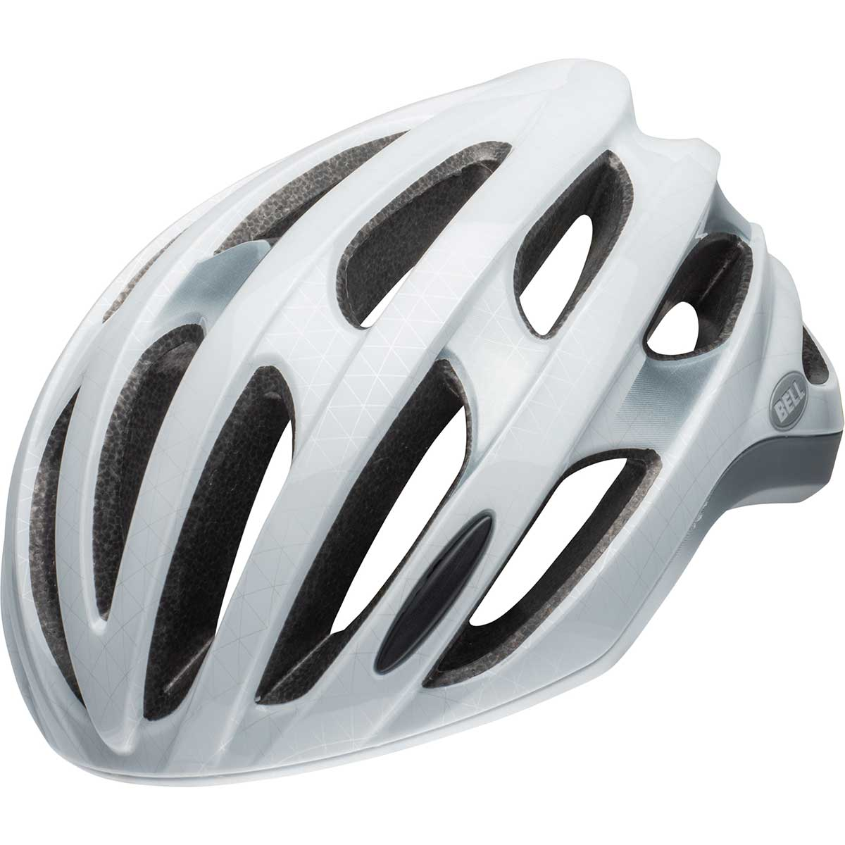 Bell Formula LED MIPS bike helmet in White and Silver and Black