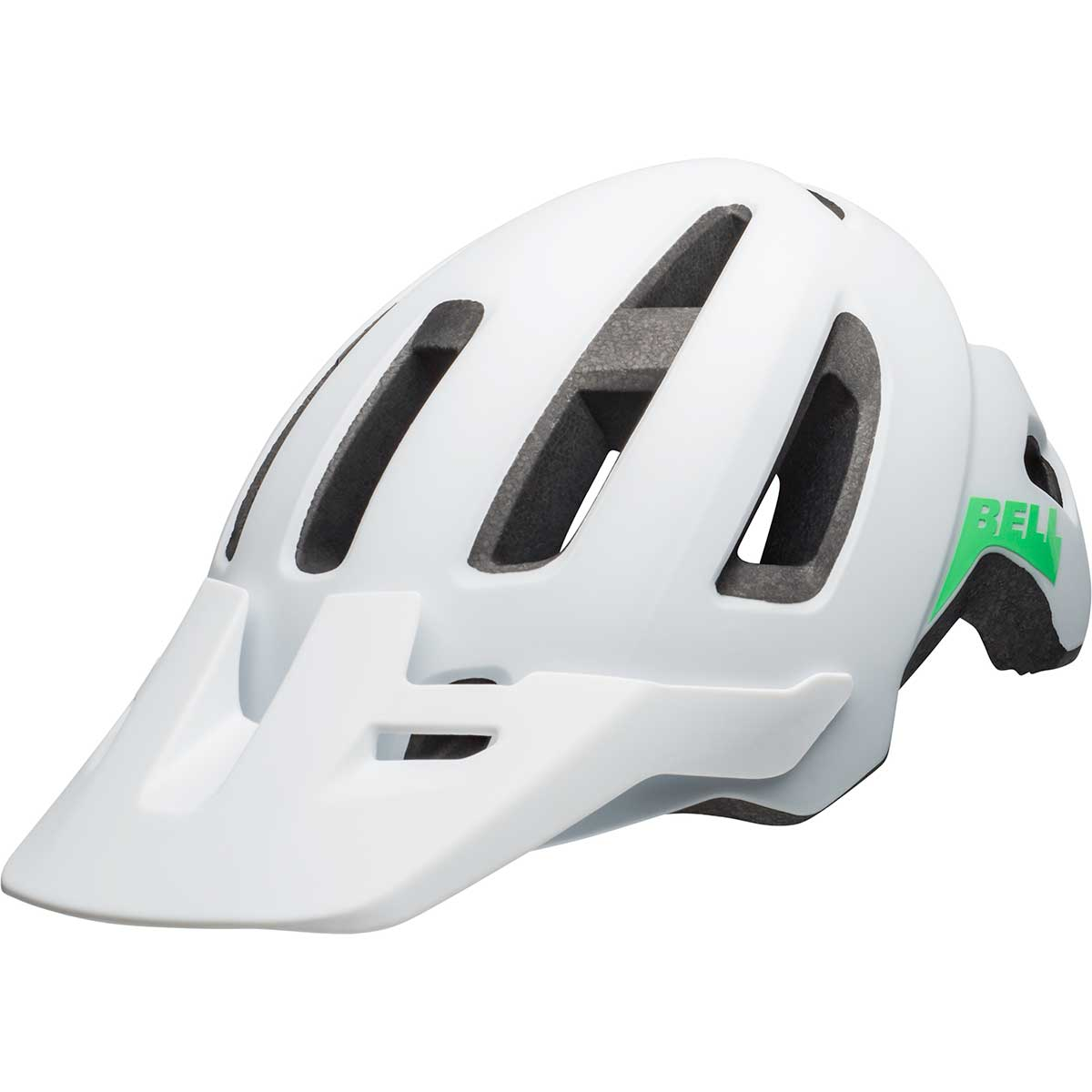 Bell women's Nomad MIPS W bike helmet in Matte White and Mint