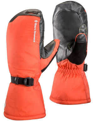 Black Diamond Men's Super Light Mitten in Octane
